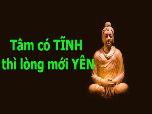 Phật dạy tĩnh tâm cho cuộc sống an lạc