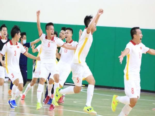 Tin bóng đá VN 27/5: ĐT Futsal VN đoạt vé dự World Cup 2021